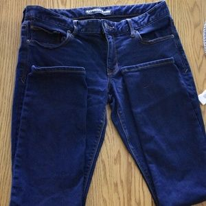 Express Super Skinny Low Rise Jeans